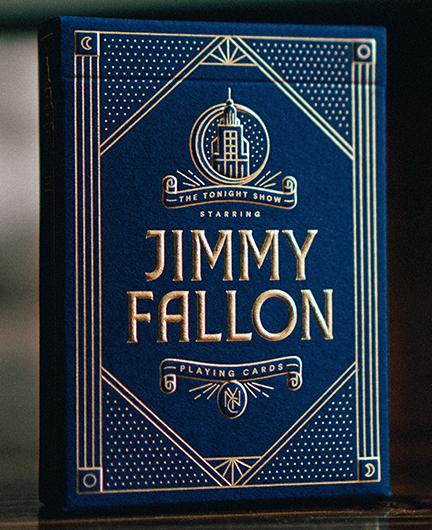 Jimmy Fallon playing cards box