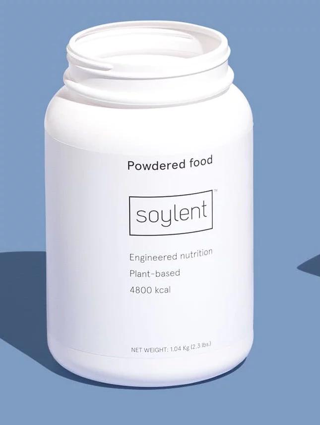 health supplement bottle with minimlaist design