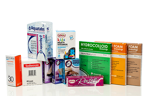 Printed Health Personal Care Cartons Dublin