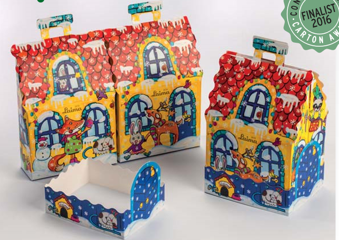 Laima/Orkla carton