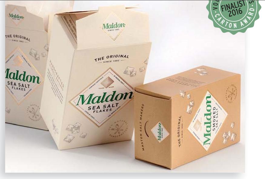 Maldon Sea Salt Carton