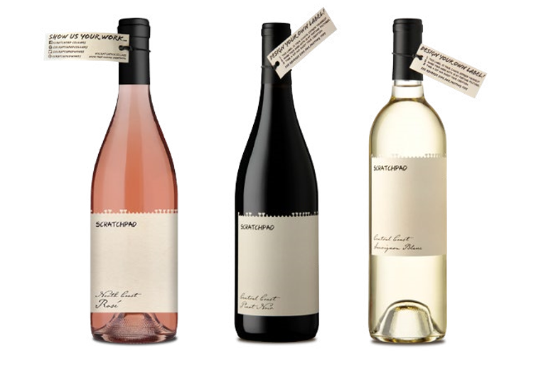 image of wine bottles with write-on labels Mintel