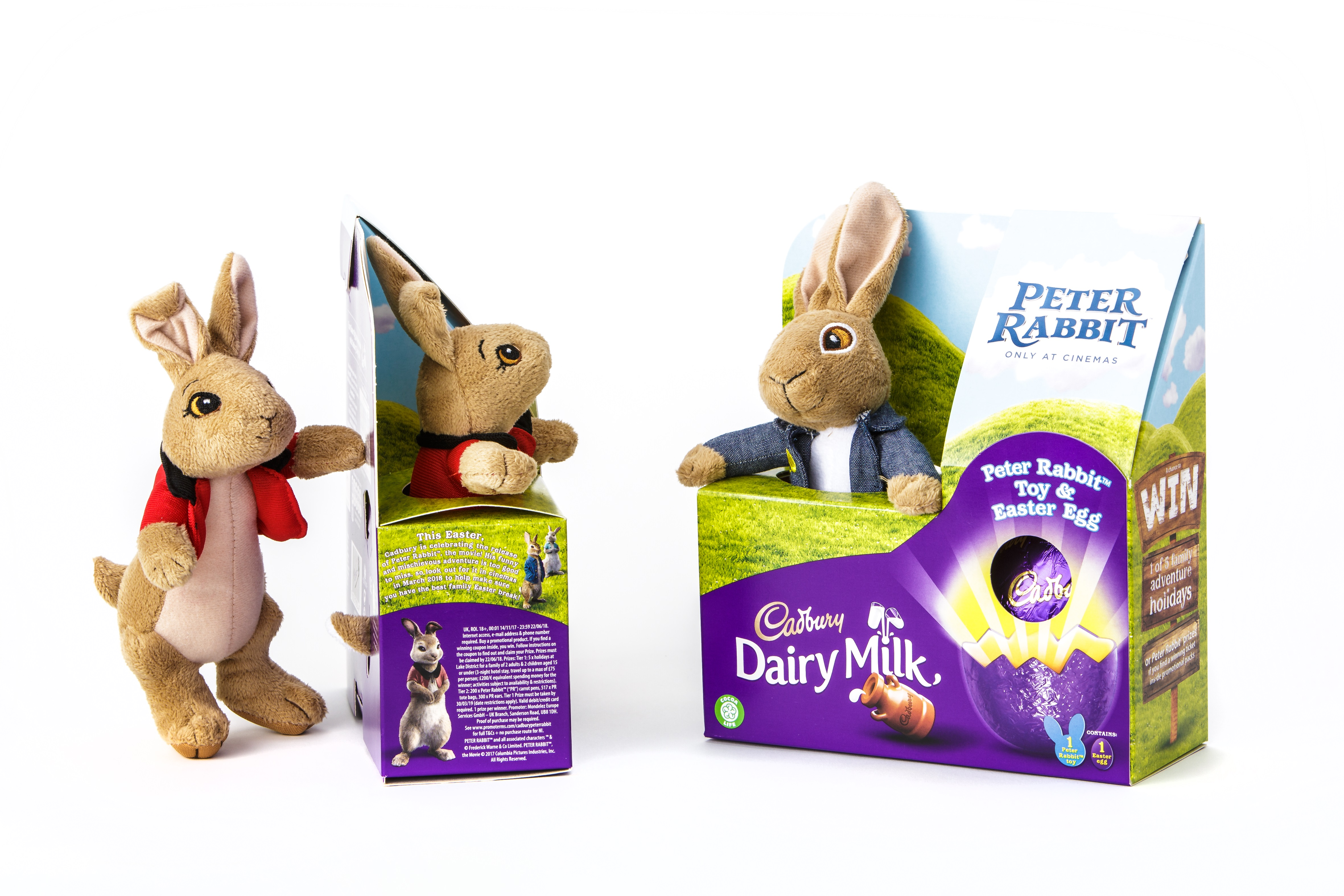 Cadbury Egg carton with toy