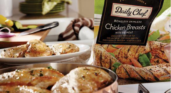 Chicken packaging