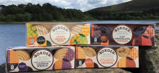 new Border Biscuit cartons