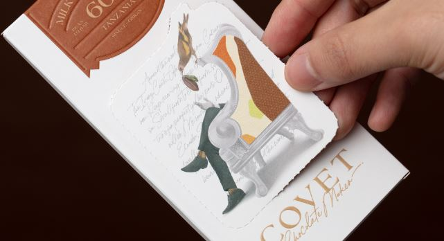 interactive chocolate packaging