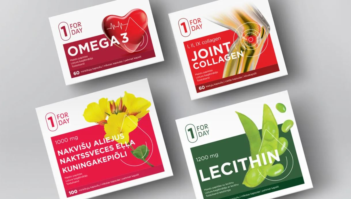 food supplement carton design