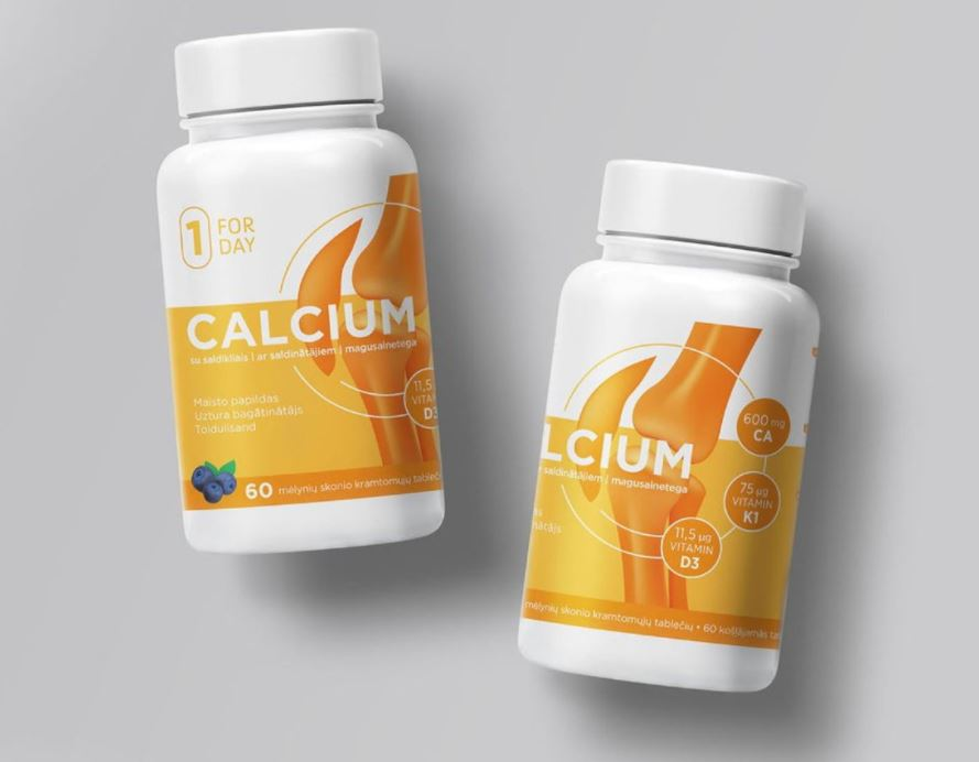 vitamin packaging design